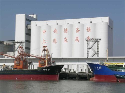 上海外高桥国家储备筒仓