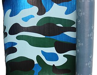 生态迷彩面膜改性沥青自粘防水卷材