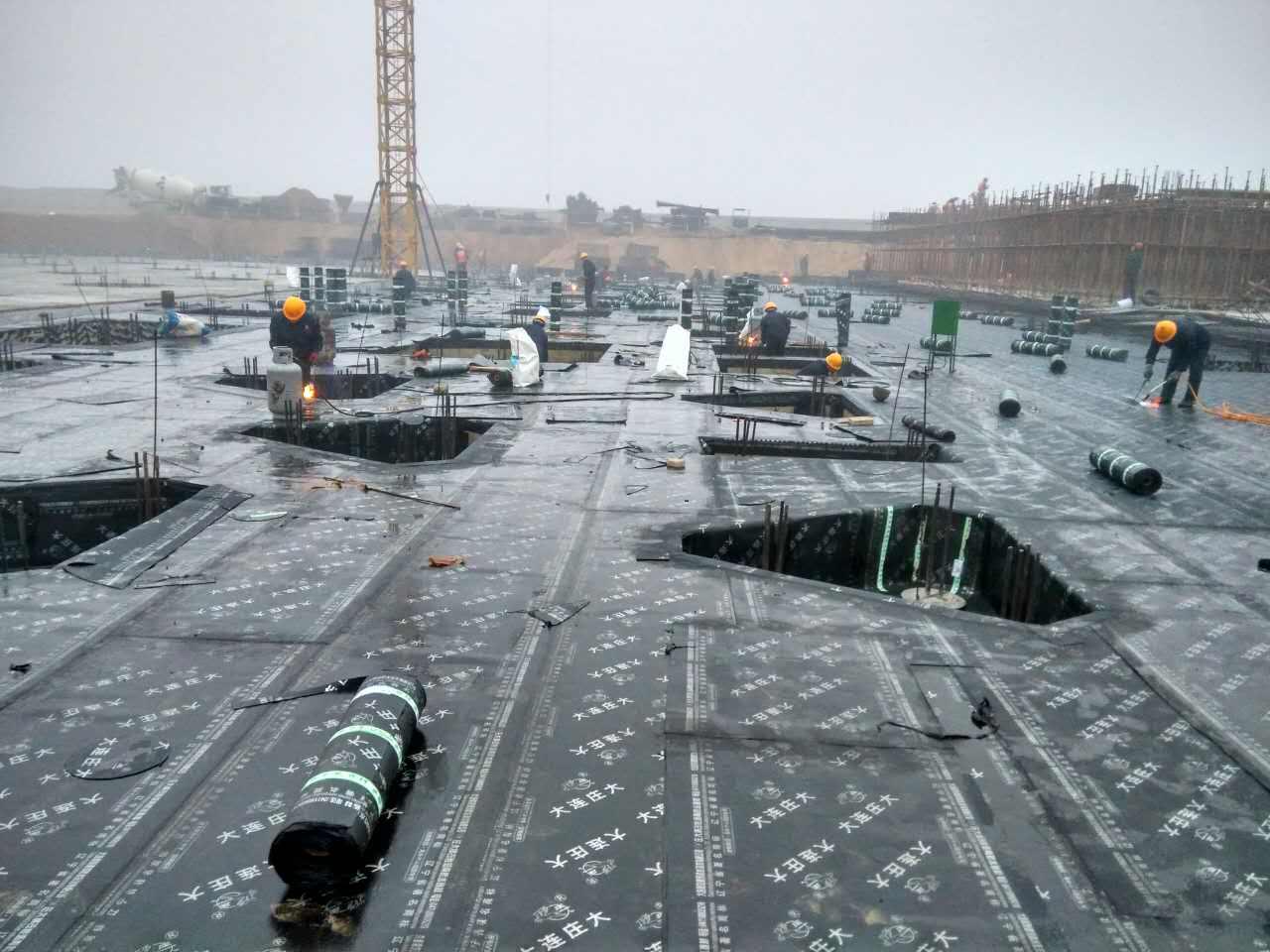 大连防水施工